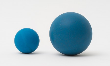 Metal detectable balls in PU