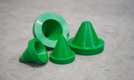 Plugtite rubber nozzle adaptor